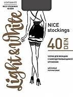 Чулки Light&White Nice Stocking 40