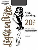 Чулки Light&White Nice Stocking 20